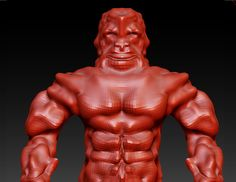 That's the biggest ZBrush noob EVERRR!!!!!!! XD XD