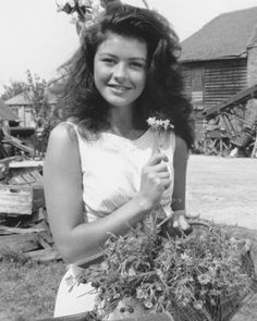 Catherine Zeta-Jones - The Darling Buds of May. Wow, I remember watching this show as a kid and being completely mesmerized by her!