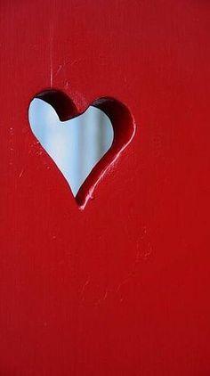 Wooden heart ✿⊱╮