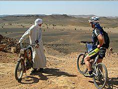 en bici por el Sahara
