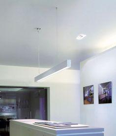 Uniline 70 von Delta Light®   Einbauleuchten Decke   Langfeldleuchten