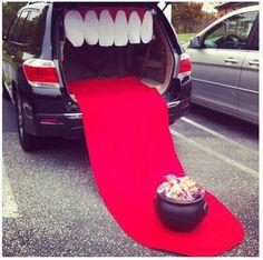 Trunk or treat car decoration theme