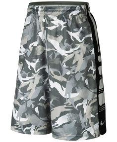 Nike Elite Striped Camo Dri-fit Basketball Shorts