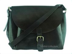 Leather satchel purse  11 inch by soulfulcollection on Etsy, $50.00