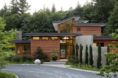 LEED Platinum Skyline Residence is designed to generate as much energy as it consumes