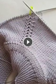 Diy Crafts - Diy Crafts - knitting,newpattern-This Pin was discovered by Nes. Crochet Mittens Free Pattern, Knitting Paterns, Knitting Videos, Knitting Designs, Knit Patterns, Knit Crochet, Diy Crafts Knitting, Diy Crafts Crochet, Easy Knitting