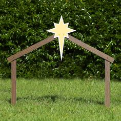 Includes 1 outdoor nativity scene stable and support stakes Made of all-weather, fade-resistant PVC plastic Material thickness: inch (Standard / Large); inch (Full-size) Designed to withstand rain, snow, harsh sunlight, and moderate wind Made in USA Ward Christmas Party, Christmas Stage, Christmas Manger, Christmas Pageant, Christmas Nativity Scene, Christmas Wood, Christmas Crafts, Nativity Scene Sets, Christmas Program