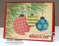 Card Ideas for Ornamental Pine Stampin Up Set - Google Search