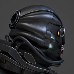 ArtStation - Cyborg, Roman Makarenko