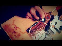 Leather craft horse - YouTube