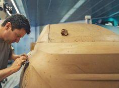 OG   2008 BMW 7 Series Mk5 - F01/02   Full-size clay model