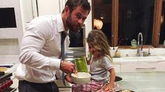 See the adorable cake Chris Hemsworth baked for his daughter's birthday