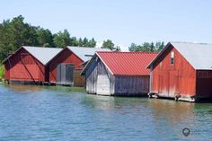 Åland - Finland Lappland, Baltic Sea, Open Water, Archipelago, Entrance, Outdoor Structures, House Styles, Islands, Yoga