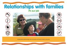 Collaborative partnerships with all families will lead to better outcomes. https://www.kidsmatter.edu.au/sites/default/files/public/KM%20Poster_C3_Relationships%20with%20families_HQ.pdf