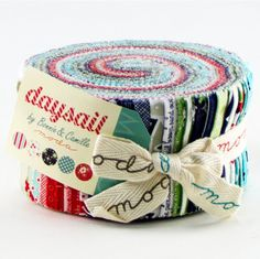 Daysail jelly roll (limited amount until they are released in February )from Bonnie and Camille for moda fabric This listing is for one 42- 2