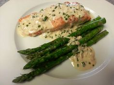 Roasted Salmon with an Irish Whiskey Cream Sauce Whiskey Cream, Whiskey Sauce, Irish Whiskey, Sardine Recipes, Mustard Salmon, Roasted Salmon, Salmon Fillets, Salmon Recipes, Fork