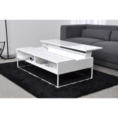 Table basse relevable delamaison for Table basse et haute a la fois