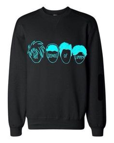 5 seconds of summer pullover | sweater black 5sos 5sos hoodie 5 seconds of summer ashton irwin ...