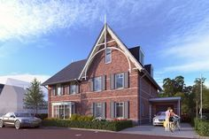 Tudor, The Neighbourhood, Art Deco, Cabin, Mansions, Architecture, House Styles, Home Decor, Earth