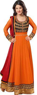 #BuyFromLink --> http://fkrt.it/bEpBxNNNNN Brasso #Women's #Embroidered #Semi-stitched #Salwar #Suit #Dupatta #Material #Dress #SalwarKameez #Orange #Floral #Designer #Anarkali #Salwar #Kameez #Chiffon #Dupatta #Indianfashion #Sexy #look #style  #Shop #Buy #online #india