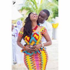 I Do Ghana | Alphonse & Judy | Photography by Se7enteen | Kente wedding | African fashion