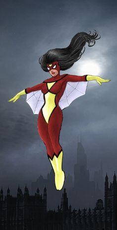 Spiderwoman by George Perez