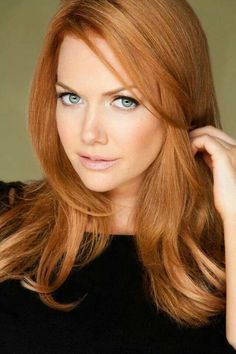 Beautiful strawberry blonde color