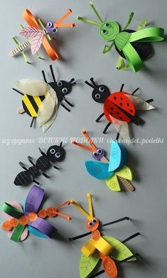 Crafts for kids Insect crafts Paper butterfly crafts Butterfly crafts Bug crafts Crafts - Learn how to make this simple paper butterfly craft It's a simple and colorful spring craft that kids - Animal Crafts For Kids, Spring Crafts For Kids, Paper Crafts For Kids, Summer Crafts, Toddler Crafts, Preschool Crafts, Art For Kids, Arts And Crafts, Paper Butterfly Crafts