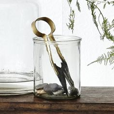 Simple Glass Vase: This Simple Glass Vase is a classic cylinder shape perfect for taller stems. Can also be used for simple storage.