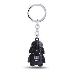 12/pcs/lot Star Wars Key Chain Darth Vader Key Rings For Gift Chaveiro Car Keychain Jewelry Movie Key Holder Souvenir YS11108 #Affiliate