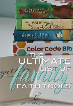The ultimate list of the best family faith tools, books, ministries and resources to help you gather together and grow with God. Family Bible Study, Best Authors, Beth Moore, Christian Families, Marriage And Family, Bible Lessons, Book Recommendations, Teaching Kids, Good Books