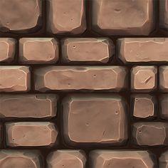 Show your hand painted stuff, pls! - Page 35 — polycount Paving Texture, 3d Texture, Tiles Texture, Stone Texture, Texture Drawing, Texture Painting, Game Textures, Textures Patterns, Pixel Art Background