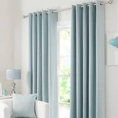Solar Duck Egg Blackout Eyelet Curtains Featuring a duck egg blue tone with an eyelet header for ease of installation and a smooth motion these ready made curtains are fully lined with blackout prope The post Solar Duck Egg Blackout Eyelet Curtains appea Duck Egg Blue Living Room, Duck Egg Blue Bedroom, Duck Egg Blue Curtains, Teal Curtains, Blue Curtains Living Room, Tassel Curtains, Vintage Curtains, Blackout Eyelet Curtains, Windows
