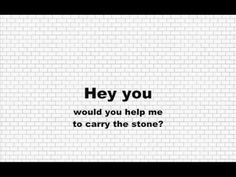 Pink Floyd - Hey You / Lyrics