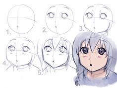 Как рисовать картинки аниме карандашом  поэтапно для начинающих легкие