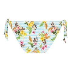Bas de maillot de bain slip noué Dasia BANANA MOON Raytie Style Californien, Banana Moon, Floral Swimsuit, Motif Floral, Slip, Swimsuits, Products, Stockings, Bathing Suits