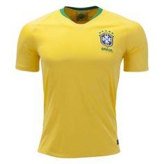f3848e978 2018 World Cup Player Version Jersey Brazil Home Yellow Shirt 2018 World Cup  Player Version Jersey Brazil Home Yellow Shirt   Wholesale Personalized ...