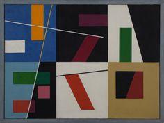 "bal-bullier: "" Six espaces distinct. Sophie Taueber-Arp (1939). """