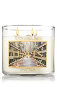 Leaves 14.5 oz. 3-Wick Candle - Slatkin & Co. - Bath & Body Works    One of my FAVORITE candles!!