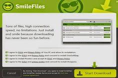 SmileFiles est classé comme un programme publicitaire en raison de ses mouvements persistants et irritantes