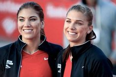 Alex Morgan. Hope Solo. Changing how people view women soccer