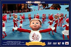 Singing Chippey Movie Poster.  It's ELF!