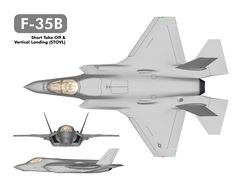 Lockheed-Martin F-35B Lightning II, Joint Strike Fighter (JSF), Short Take-Off and Vertical Landing (STOVL) version.