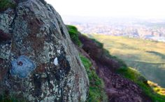 Take a walk up Arthur's Seat in the centre of Edinburgh's Holyrood Park for some spectacular views of the city! #geologyrocks #Scotland #explore