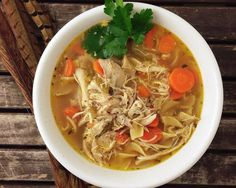 Who's ready for soup? Since that crazy groundhog saw his shadow earlier this month winter has been hitting every single state hard. Why not warm yourself up with this easy from scratch Wild Pheasan. Fish Recipes, Soup Recipes, Cooking Recipes, Goulash Recipes, Noodle Soup, Pheasant, Dinner Tonight, Japchae, Noodles