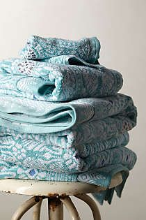 Anthropologie - Marigold Towel Collection