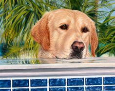 Commission a portrait of your pet, by artist Leah Knecht in oils or pastels. She will create a custom portrait that captures your pet's likeness and personality in a realistic, detailed work of art.