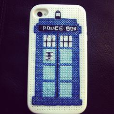 My #TARDIS phone case.  #diy #doctorwho