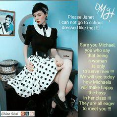 Michael's new macho !!! (#Chloe Sissi)