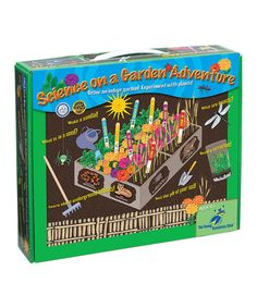 Take a look at this Science on a Gardening Adventure Kit by Young Scientists Club on #zulily today!